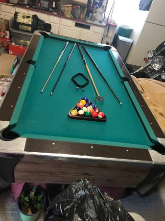 Solo 174 Myrtle Beach Dynamo Pool Table 12