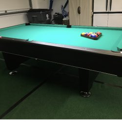 Presidential Black Diamond Pool Table