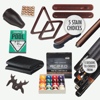 Accessory Kit for Pool Tables